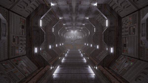 Nave espacial (imagen referencial) - Sputnik Mundo