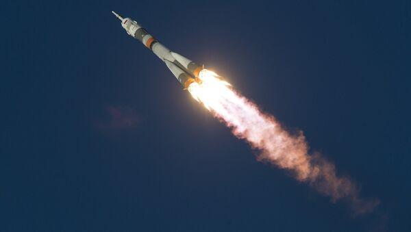 Una nave espacial rusa Soyuz (archivo) - Sputnik Mundo