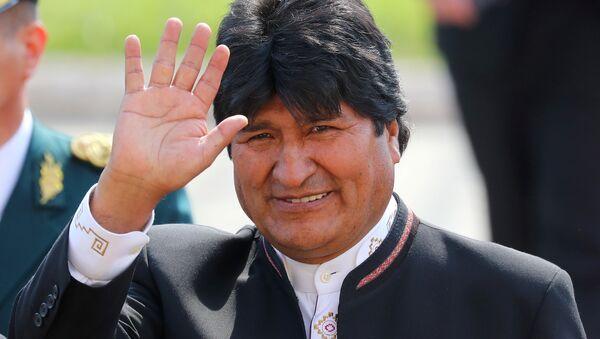Presidente de Bolivia, Evo Morales - Sputnik Mundo