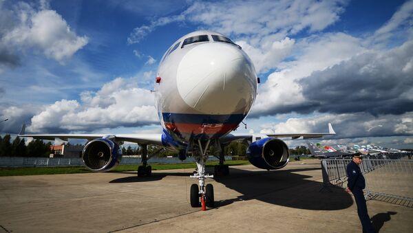 Avión de vigilancia ruso Tu-214ON - Sputnik Mundo