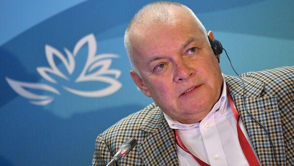 Dmitri Kiseliov, director general del grupo mediático Rossiya Segodnya - Sputnik Mundo