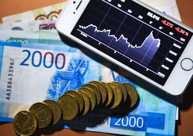 Tasa de cambio del dólar estadounidense en Rusia