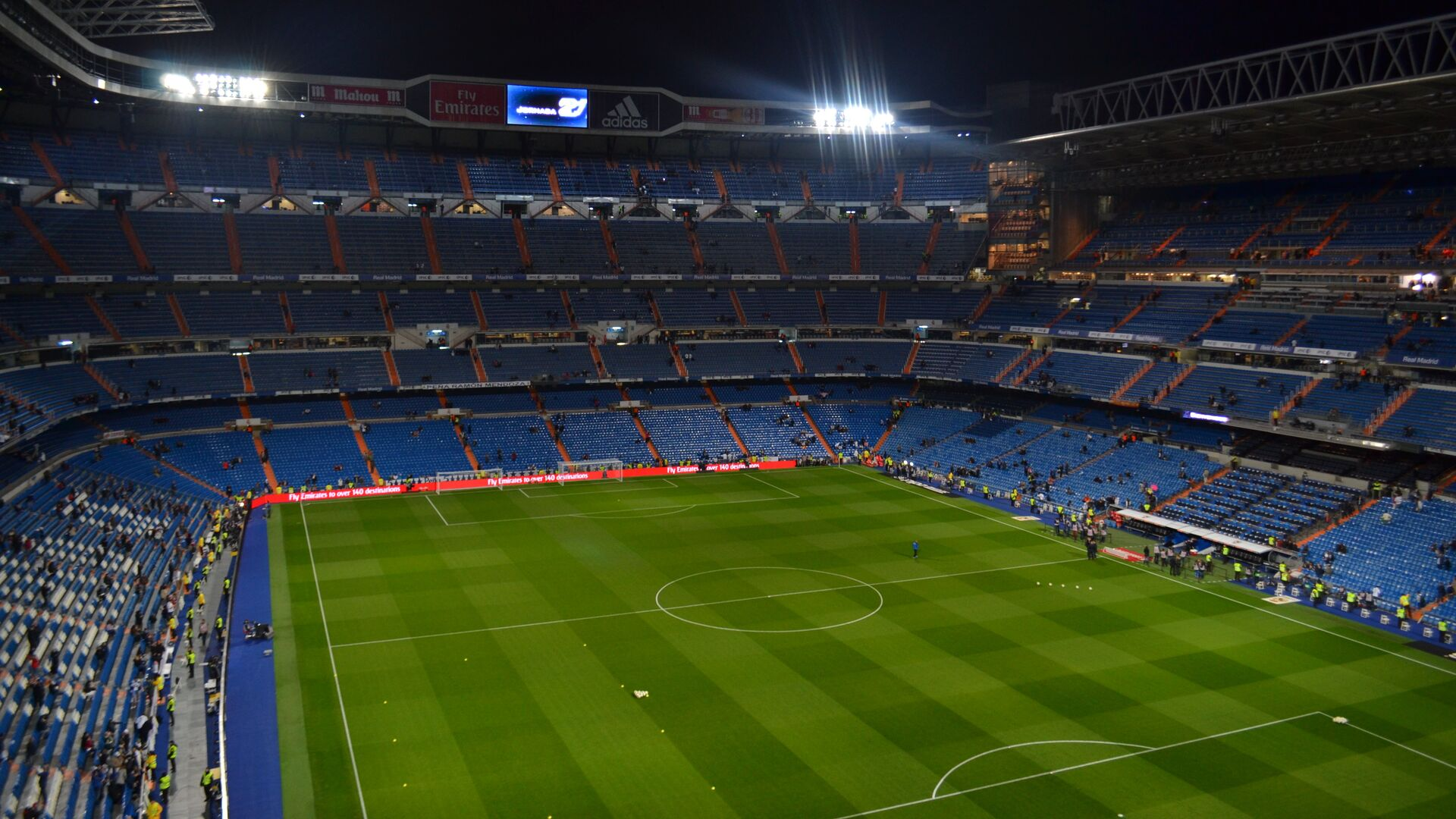 Estadio de Real Madrid, España - Sputnik Mundo, 1920, 04.06.2021