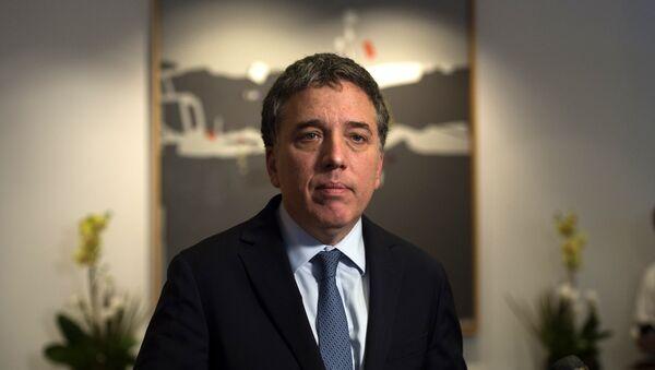 Nicolás Dujovne, ministro de Hacienda de Argentina - Sputnik Mundo