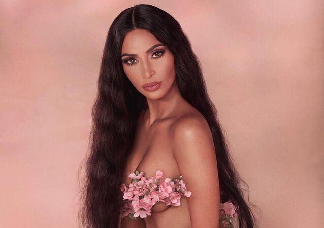 Kim Kardashian, celebridad estadounidense (archivo)