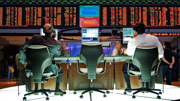 Bolsa en EEUU, imagen referencial - Sputnik Mundo