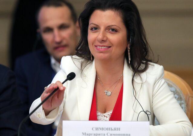Margarita Simonián, la directora de Sputnik y RT
