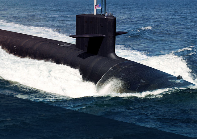Submarino nuclear de la clase Columbia, imagen referencial