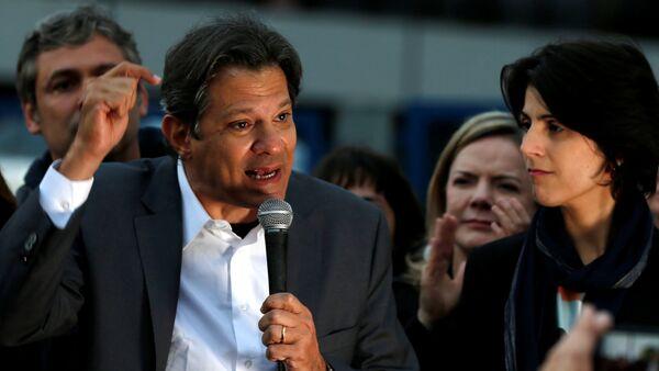 Fernando Haddad, candidato presidencial brasileño - Sputnik Mundo