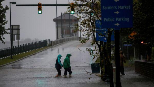 Huracán Florence en Carolina del Norte - Sputnik Mundo
