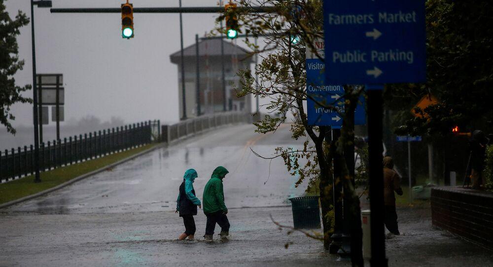 Huracán Florence en Carolina del Norte