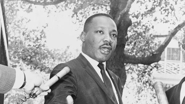 Martin Luther King Jr., pastor estadounidense (imagen referencial) - Sputnik Mundo