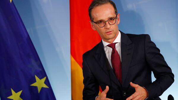 Heiko Maas, ministro de Exteriores alemán - Sputnik Mundo