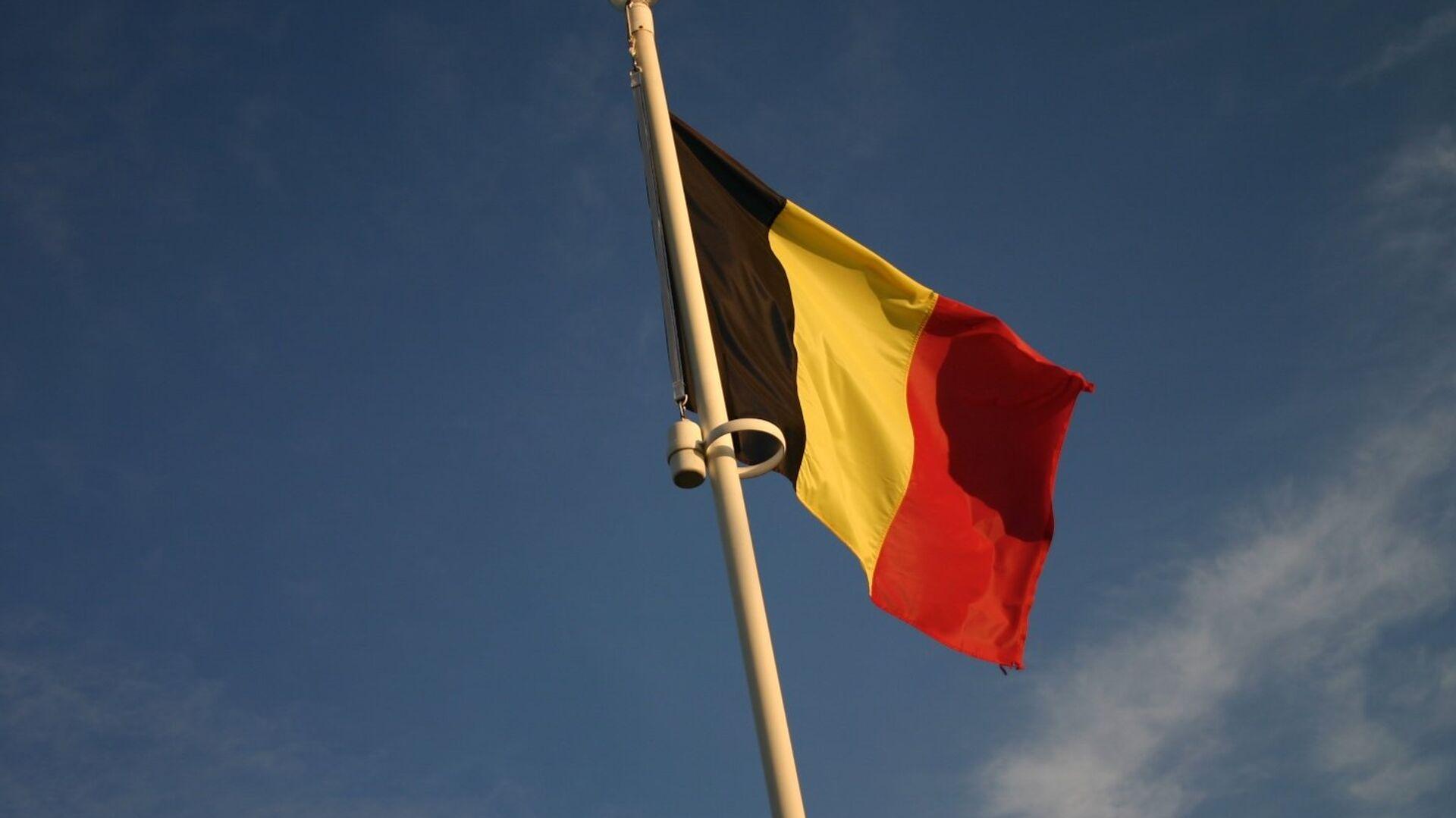 Bandera de Bélgica (imagen referencial) - Sputnik Mundo, 1920, 09.07.2021