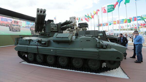 El sistema de misiles antiaéreos Sosna en el Foro Militar e Internacional Army 2018 - Sputnik Mundo