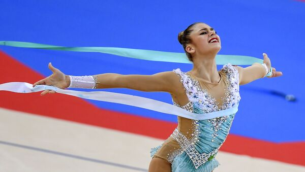 La gimnasta rusa Alexandra Soldátova - Sputnik Mundo