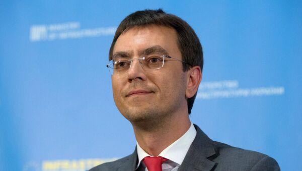 Vladímir Omelián, ministro de Infraestructura de Ucrania - Sputnik Mundo