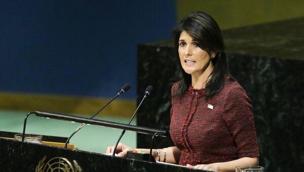 Nikki Haley, embajadora de EEUU ante la ONU - Sputnik Mundo