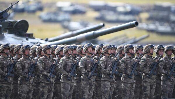 Militares chinos  - Sputnik Mundo