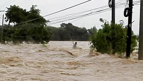 Tifón Mangkhut en Filipinas - Sputnik Mundo