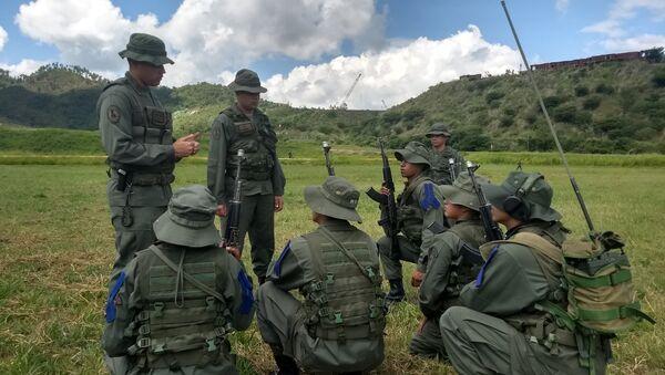 Soldados del Método Táctico de Resistencia Revolucionaria - Sputnik Mundo