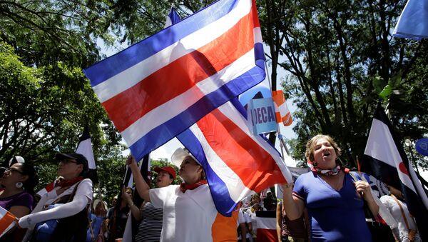 Manifestaciones en Costa Rica - Sputnik Mundo