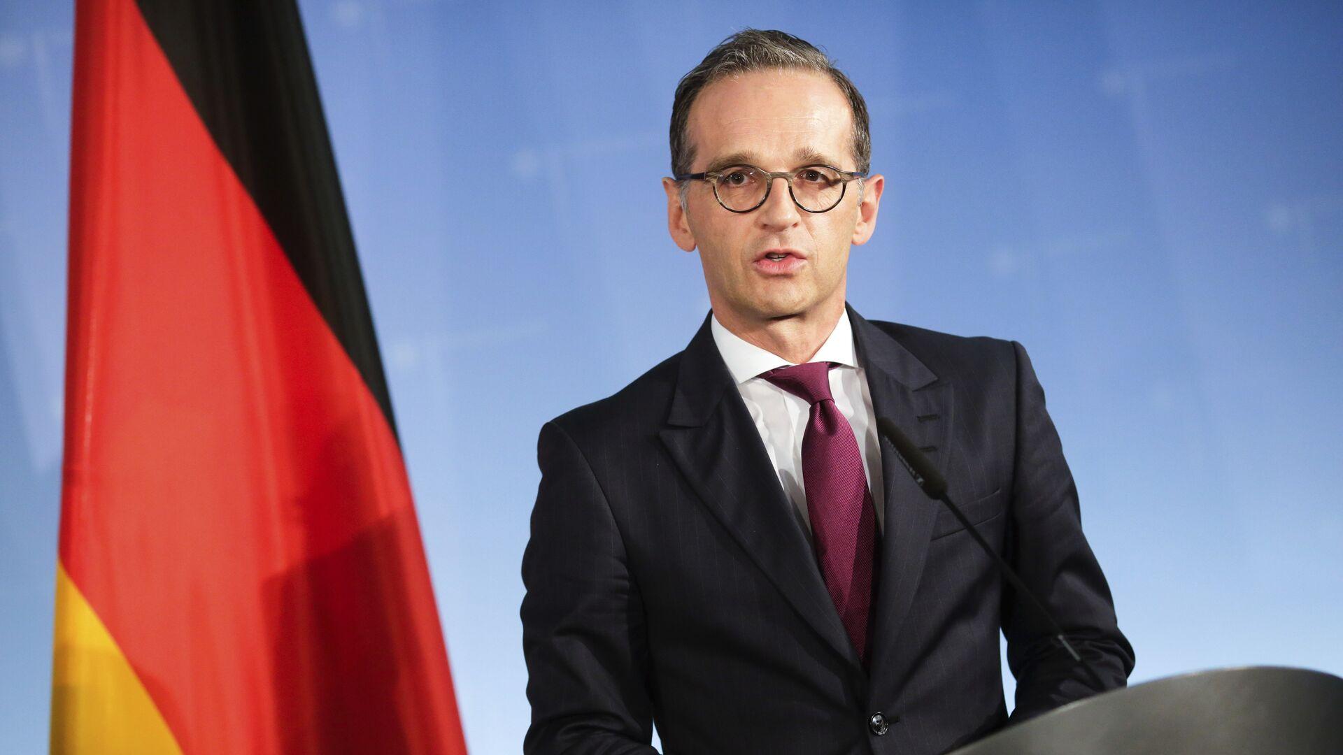 Heiko Maas, ministro de Exteriores de Alemania - Sputnik Mundo, 1920, 01.06.2021