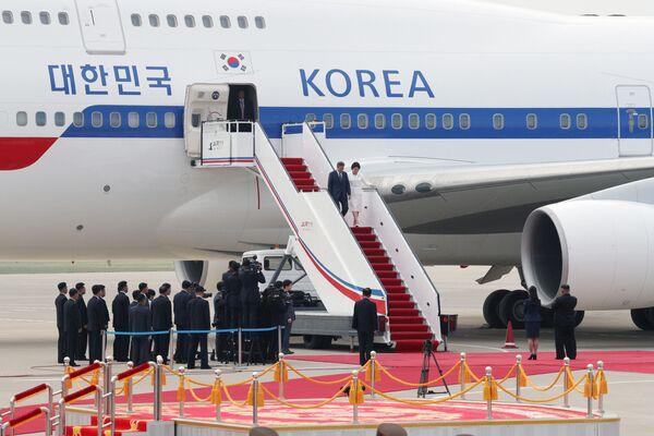La histórica visita del presidente de Corea del Sur a Pyongyang - Sputnik Mundo