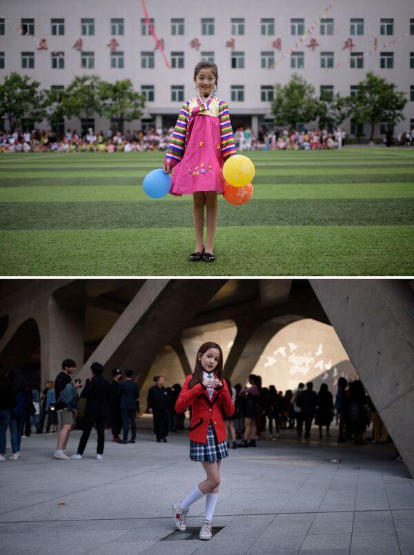 Como dos gotas de agua y aceite: diferencias en el día a día entre las dos Coreas - Sputnik Mundo