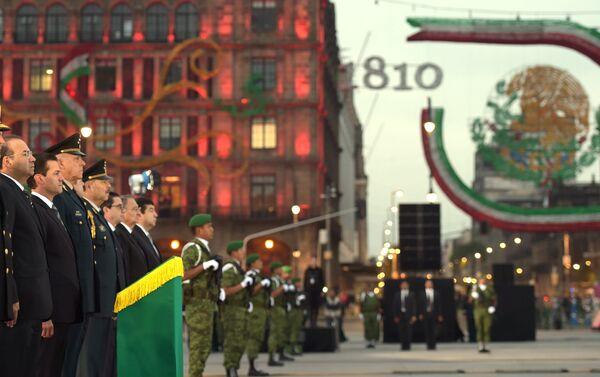 Ceremonia en memoria de las personas que perdieron la vida en el sismo de 1985 - Sputnik Mundo