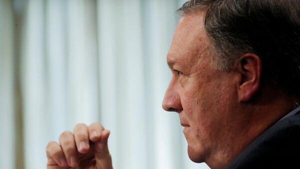 Mike Pompeo, secretario de Estado de Estados Unidos - Sputnik Mundo