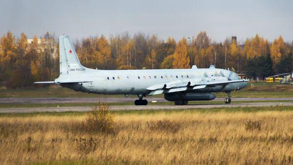 El avión ruso Il-20 - Sputnik Mundo