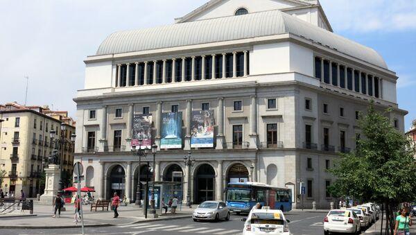Teatro Real de Madrid (archivo) - Sputnik Mundo