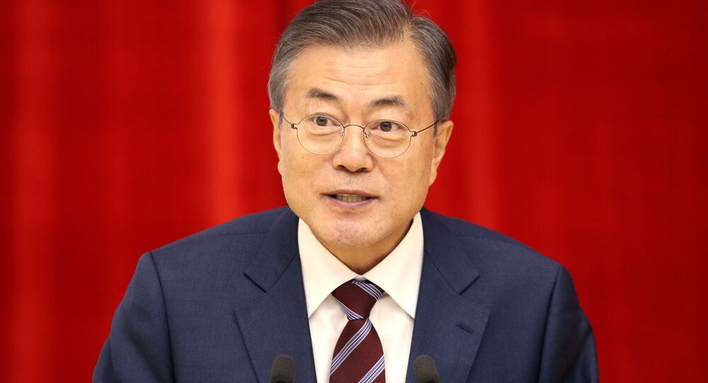 El presidente de Corea del Sur, Moon Jae-in