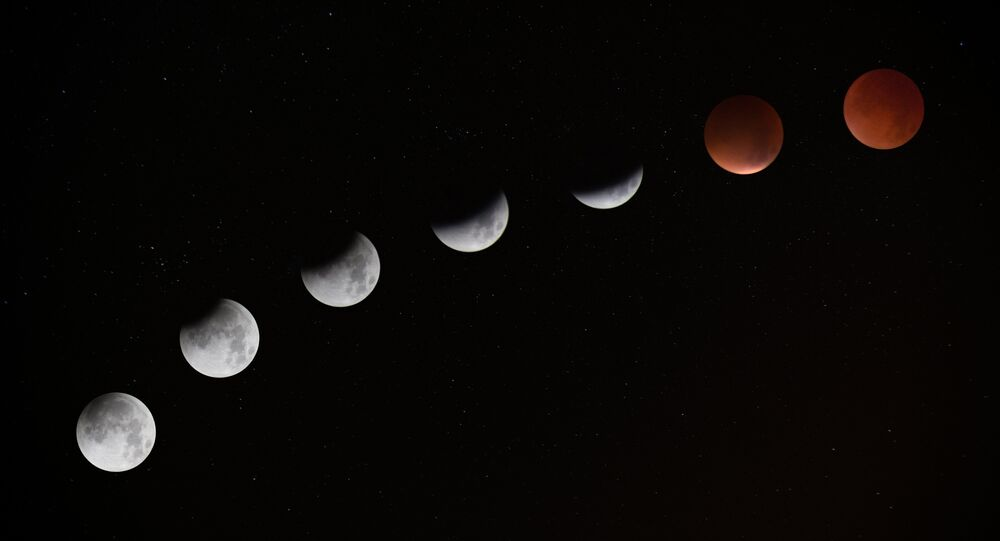 Eclipse lunar (imagen referencial)