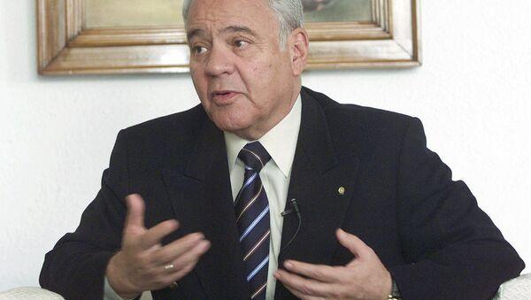 Gonzalo Sánchez de Lozada, expresidente de Bolivia - Sputnik Mundo