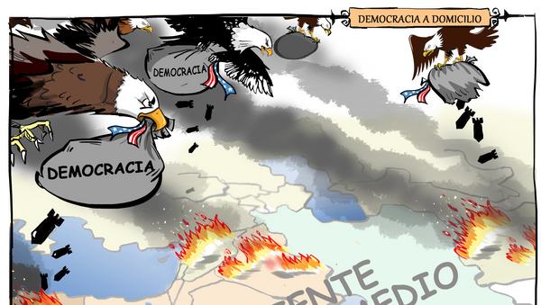 Democracia a domicilio: EEUU comete su peor error entrometiéndose en Oriente Medio - Sputnik Mundo