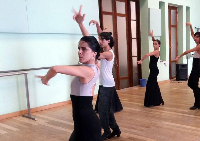 Irene Rodríguez, bailarina, directora y coreógrafa cubana
