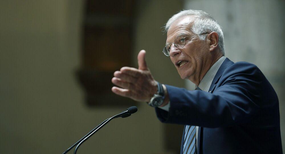 Josep Borrell, ministro de Asuntos Exteriores de España