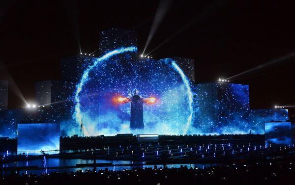 Ceremonia de apertura de Festival Internacional Círculo de Luz de Moscú (archivo) - Sputnik Mundo