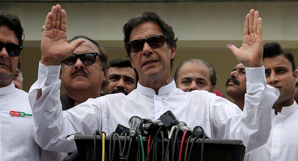 Imran Khan, primer ministro pakistaní