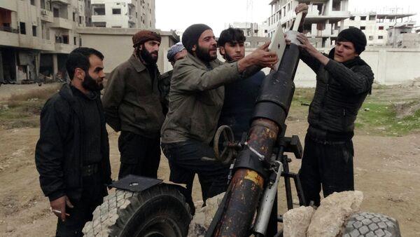 Combatientes del Ejército Libre Sirio (Archivo) - Sputnik Mundo