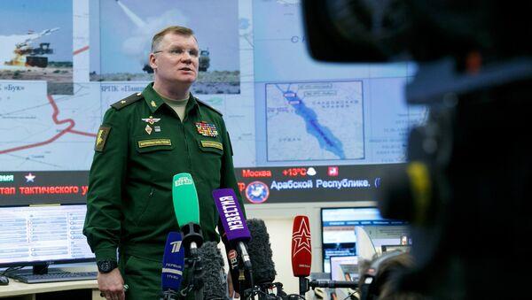 General mayor Ígor Konashénkov, portavoz del Ministerio de Defensa ruso - Sputnik Mundo