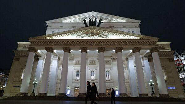 El Teatro Bólshoi de Moscú (archivo) - Sputnik Mundo