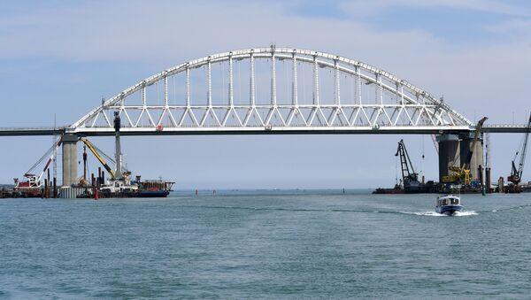Puente de Crimea - Sputnik Mundo