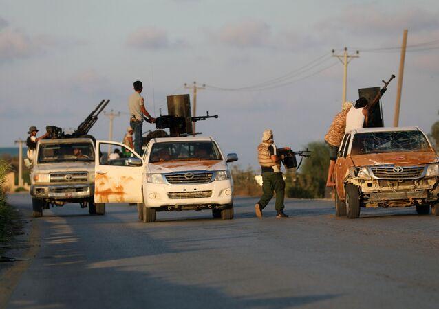 Enfrentamientos en Trípoli