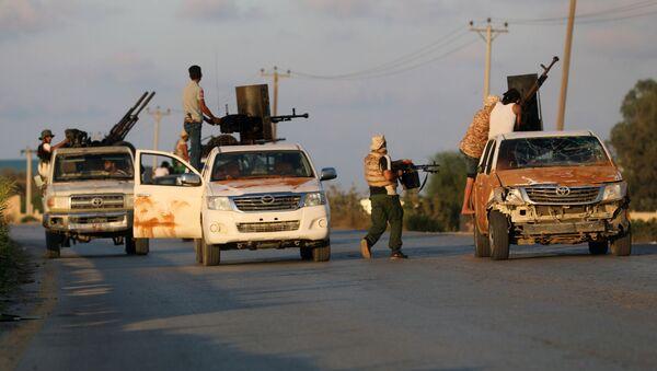 Enfrentamientos en Trípoli - Sputnik Mundo