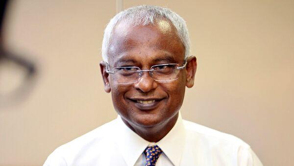 Ibrahim Mohamed Solih, ganador de las elecciones presidenciales en Maldivas - Sputnik Mundo