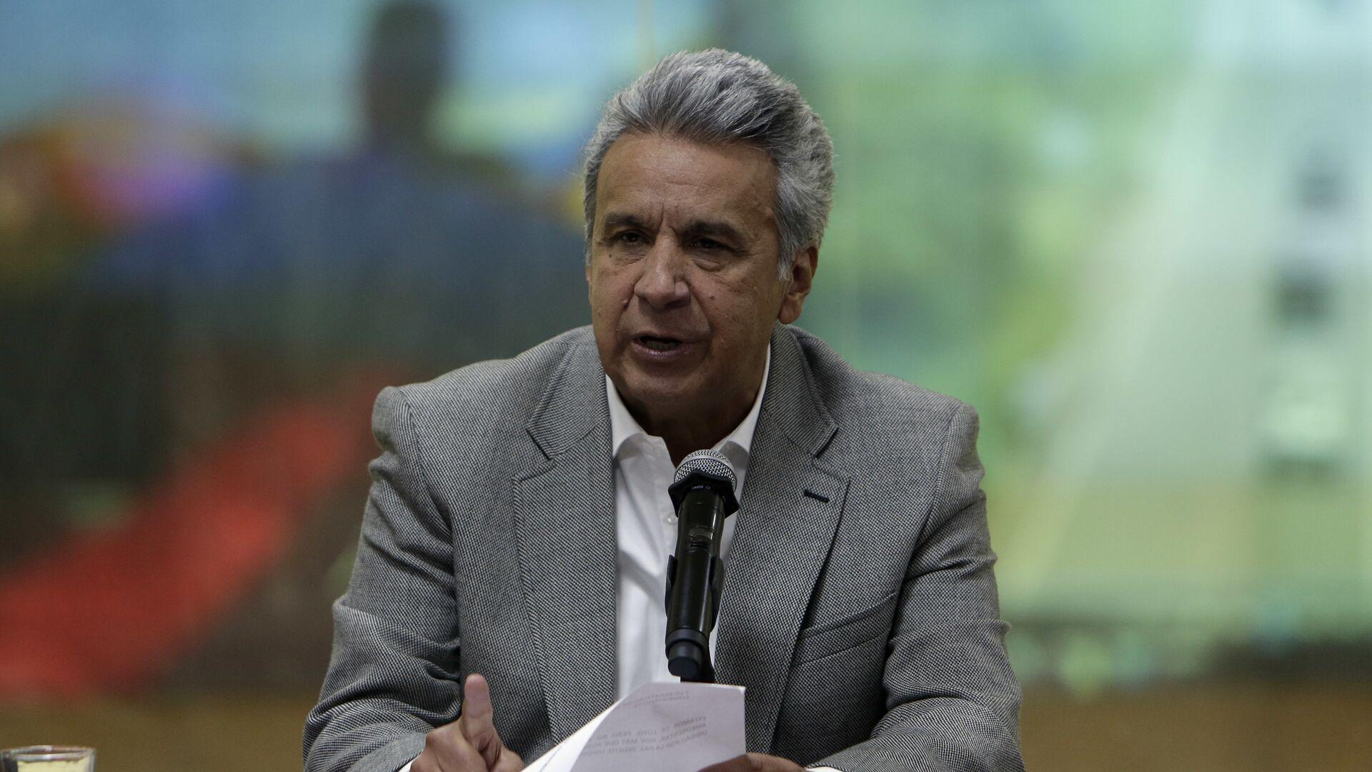 Lenín Moreno, presidente de Ecuador - Sputnik Mundo, 1920, 24.02.2021