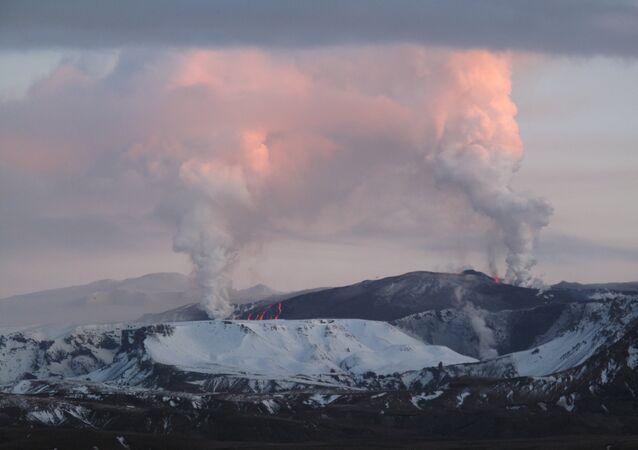 Volcanes en Islandia